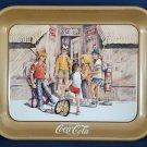 Vintage Coca-Cola Coke Steel Tray Collectible- Excellent Condition