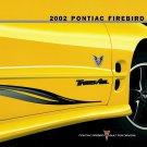 2002 Pontiac Firebird Trans AM Collector Edition Dealer brochure-MINT
