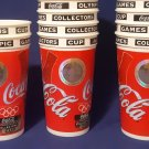 Vintage Coca-Cola Coke 1996 Atlanta XXVI Olympic Summer Games 22 oz.Plastic Cups