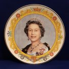 Queen Elizabeth II Her Majesty The Queen 50th Anniversary Royal Fenton China Collector Plate