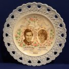 Prince Charles & Lady Diana Princess of Wales 1981 Royal Wedding Collector Plate-Isabel