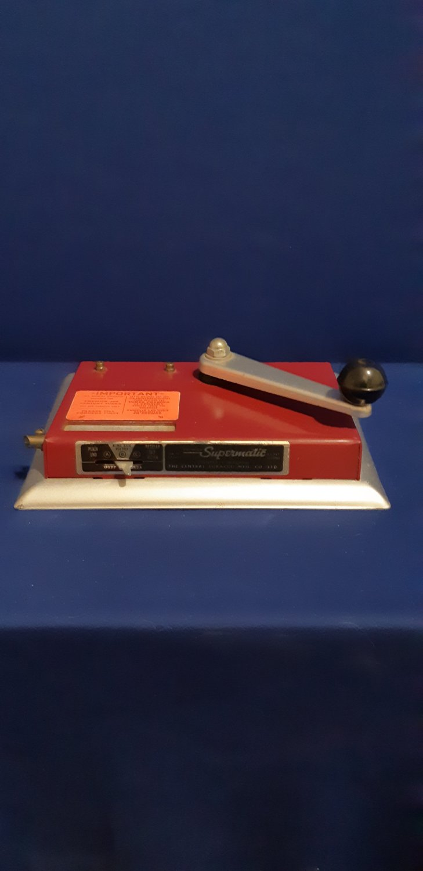 Vintage Supermatic Premier Cigarette Making Machine-The Central Tobacco MFG. Co