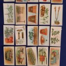 Vintage 1923 Imperial Tobacco Co. of Canada Cards-Gardening Hints-Collectible-Complete Set of 50