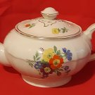 Vintage Alfred Meakin Floral Tea Pot-Made in England