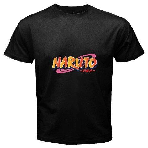 Naruto Logo Black T-Shirt