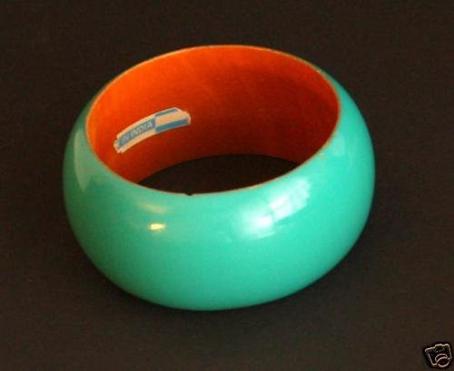 Vintage Green Super Chunky Bangle Bracelet India