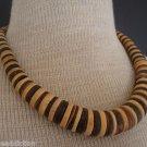 Big & Bold Vintage South Western Sandalwood Necklace