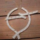 Vintage Trifari White Faux Pearl Necklace Bracelet Set