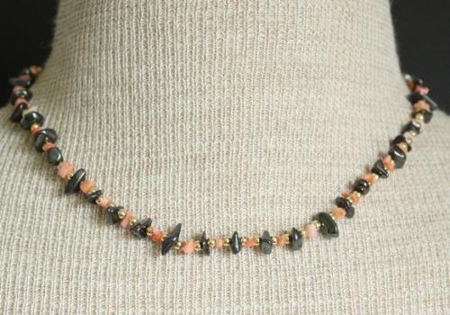 Vintage Corral Hematite Necklace Cute!