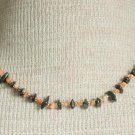 Vintage Corral Hematite Necklace Cute!