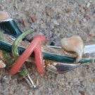 Cute Vintage Kenneth J Lane  Shoe Sterling Pin Brooch