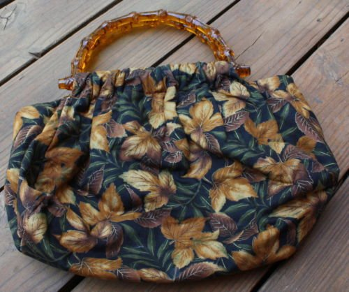 Cute  Vintage Fall Leaves Cloth Tote Bag/Purse