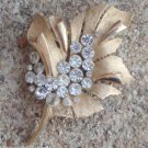 Outstanding Vintage Crown Trifari Rhinestone Pin/Brooch