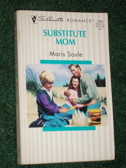 Substitute Mom by MARIS SOULE Vintage Silhouette Romance No 1160 1996