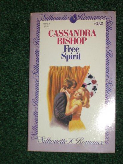 Free Spirit by CASSANDRA BISHOP Vintage Silhouette Romance No 335 1984