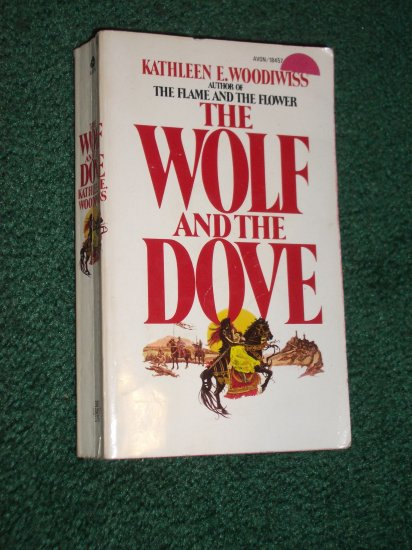 The Wolf and the Dove by Kathleen E. Woodiwiss Historical Medieval Romance 1974 1st Edition