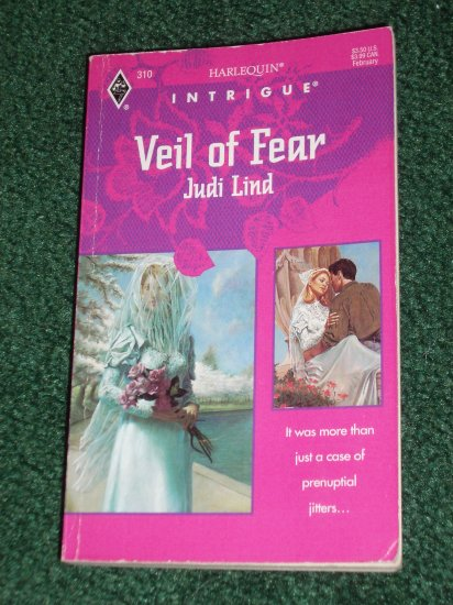 Veil of Fear by JUDI LIND Vintage Harlequin Intrigue Feb95