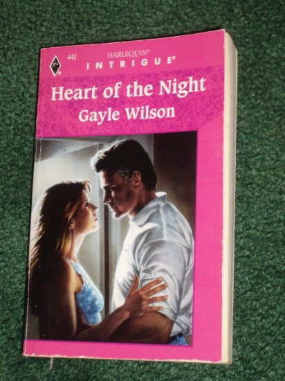 Heart of the Night by GAYLE WILSON Vintage Harlequin Intrigue #442 1997