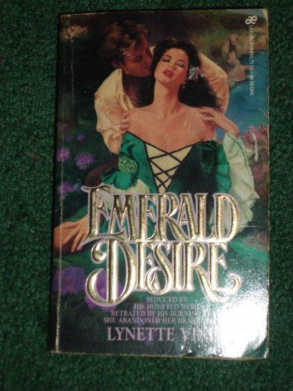 Emerald Desire by Lynette Vinet Historical Irish Romance 1985