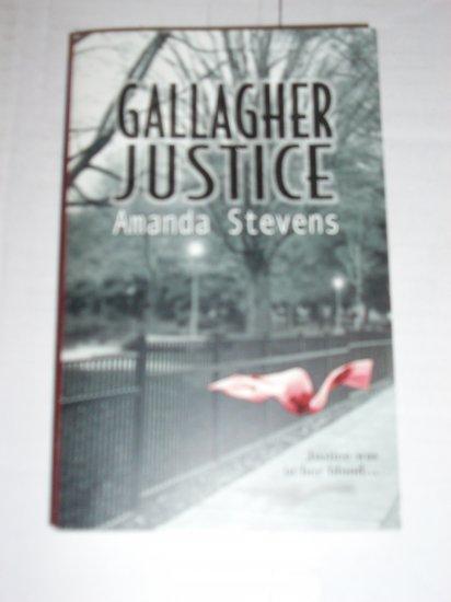Gallagher Justice by AMANDA STEVENS Romantic Suspense 2003