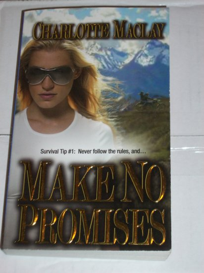 Make No Promises by Charlotte Maclay LoveSpell Romantic Suspense 2006