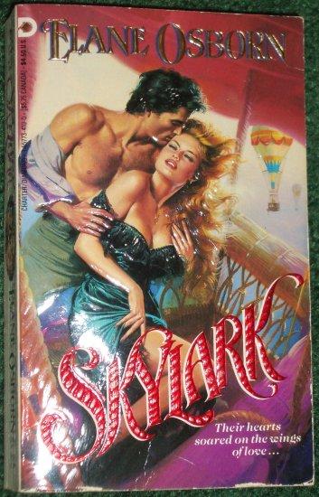 Skylark by ELANE OSBORN Historical Victorian Romance 1990
