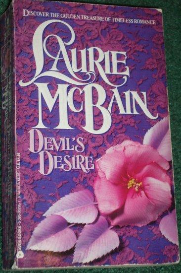 Devil's Desire by LAURIE McBAIN Historical Regency Romance 1975
