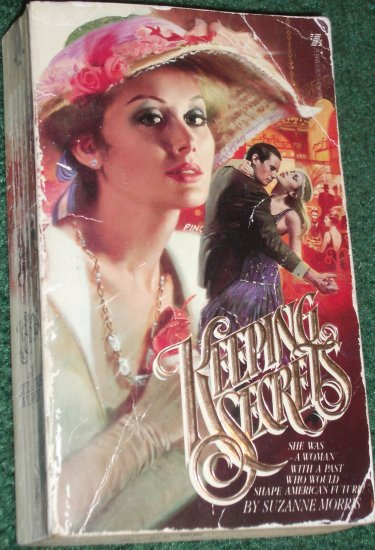 Keeping Secrets by SUZANNE MORRIS Zebra Historical Turn of the Century Romance 1979