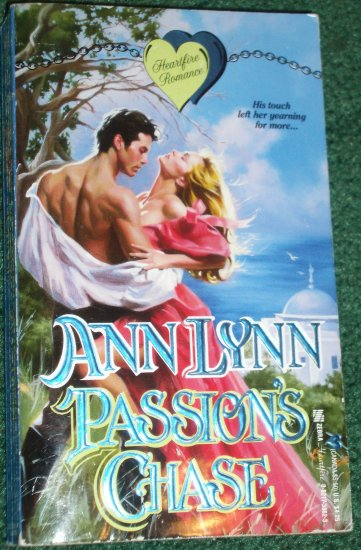 Passion's Chase by ANN LYNN A Zebra Heartfire Historical Romance 1992