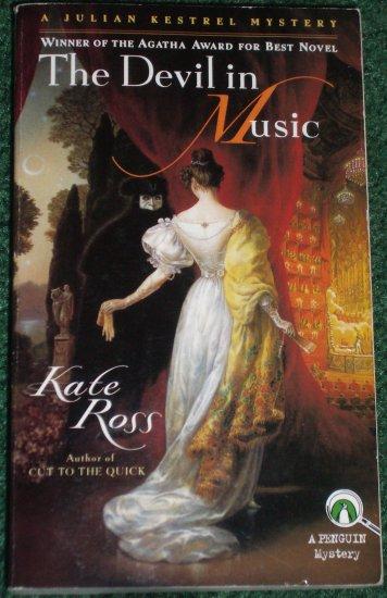 The Devil in Music by KATE ROSS A Julian Kestrel Mystery PB 1997