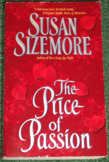 The Price of Passion by SUSAN SIZEMORE Historical Victorian Romance 2001