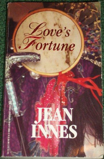Love's Fortune by JEAN INNES Zebra Lovegram Historical Irish and English Romance 1995