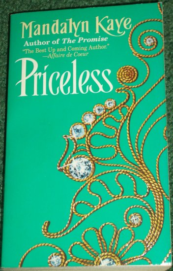 Priceless by MANDALYN KAYE Historical Romance 1998