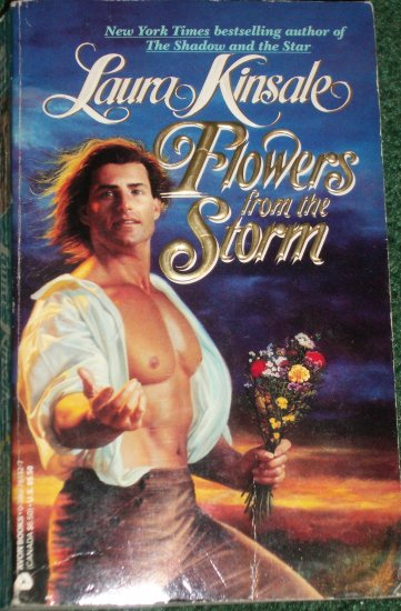 Flowers from the Storm by LAURA KINSALE Historical Victorian Romance 1992 A Top Pick