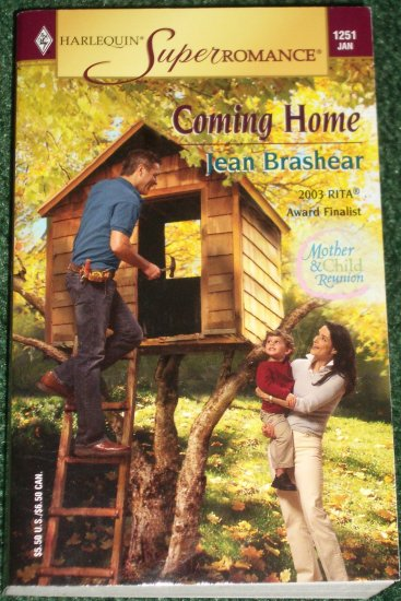 Coming Home by JEAN BRASHEAR Harlequin SuperRomance No 1251 Jan05 Mother & Child Reunion
