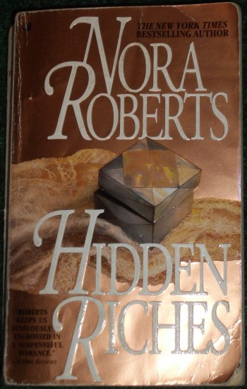 Hidden Riches by NORA ROBERTS Romantic Suspense PB 1995