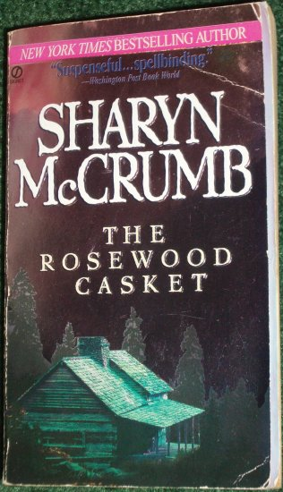 The Rosewood Casket by SHARYN McCRUMB Suspenseful and Spellbinding PB 1997