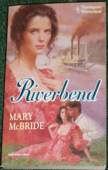 Riverbend by MARY McBRIDE Harlequin Historical Civil War Romance No 164 1993