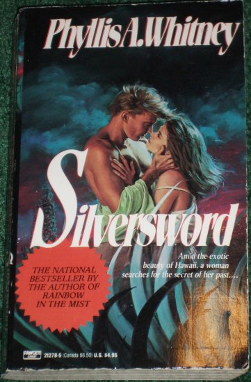 Silversword by PHYLLIS A. WHITNEY Romantic Suspense 1991