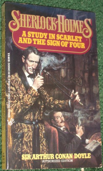 A Study in Scarlet / The Sign of Four. Berkley Prime Crime Sherlock Holmes SIR ARTHUR CONAN DOYLE