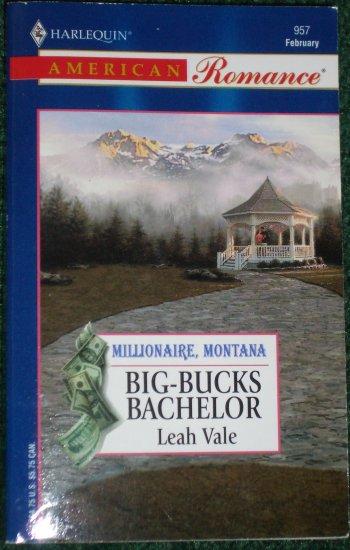 Big-Bucks Bachelor by LEAH VALE Harlequin American Romance No 957 Jeb03 Millionaire, Montana