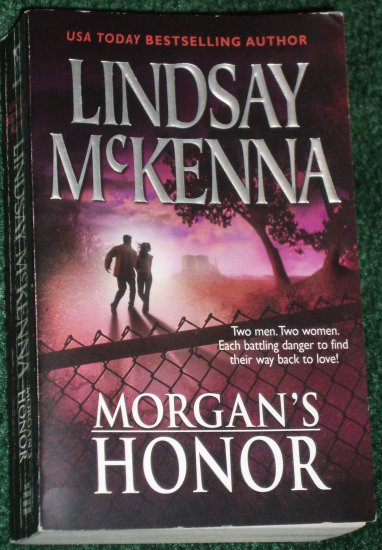 Morgan's Honor by LINDSAY McKENNA Romantic Adventure 2-in-1 Morgan's Mercenaries