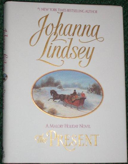 The Present by JOHANNA LINDSEY Historical Regency Romance Hardcover Dust Jacket Malory Novel
