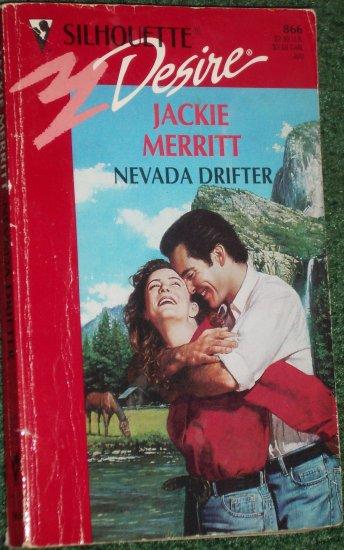 Nevada Drifter by JACKIE MERRITT Vintage Silhouette Desire Romance #866 Jul94