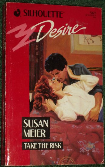 Take the Risk by SUSAN MEIER Vintage Silhouette Desire Romance PB #567 May90