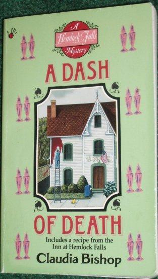 A Dash of Death by CLAUDIA BISHOP Berkley Prime Crime Hemlock Falls Mystery PB 1995