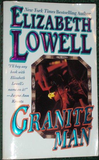 Granite Man by ELIZABETH LOWELL Contemporary Western Romance