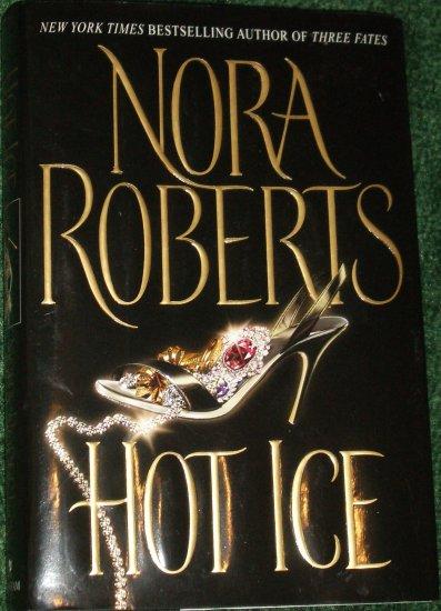 Hot Ice by Nora Roberts Hardback with Dust jacket Bantam 2002