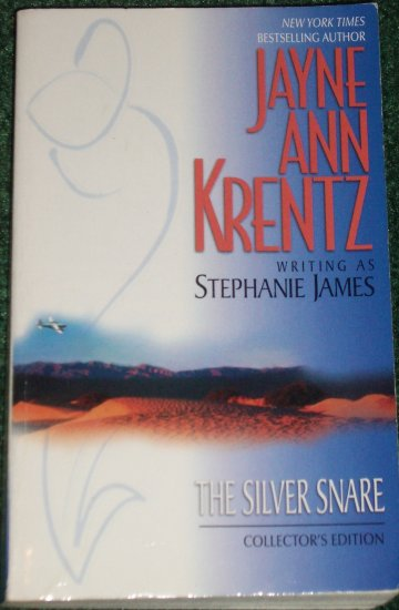 The Silver Snare by JAYNE ANN KRENTZ (a.k.a. Stephanie James) Romance 1983