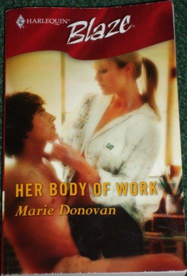 Her Body of Work by MARIE DONOVAN Harlequin Blaze Romance 204 Sep05